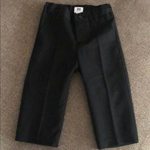 Janie and jack black trousers